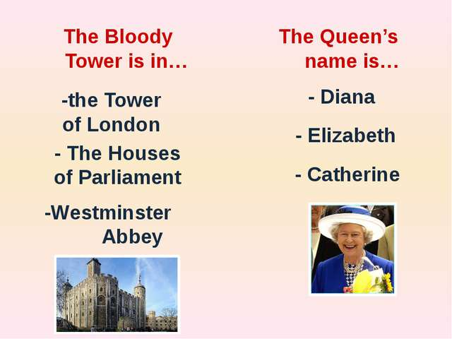 Match the words and the definitions: Building City Tourist Guide Capital Gal...