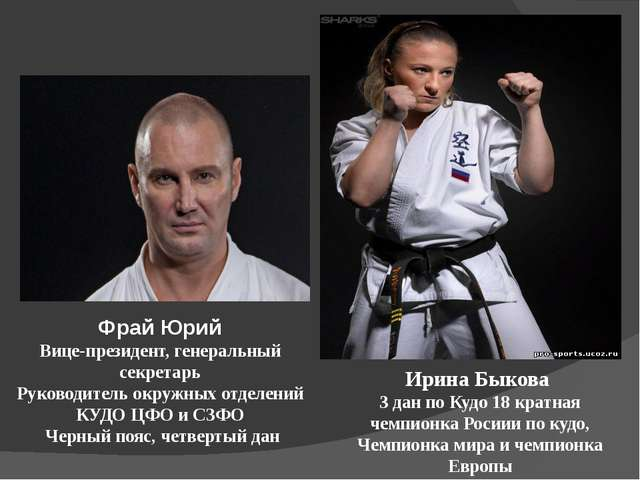 Фрай Юрий Вице-президент, генеральный секретарь Руководитель окружных отделен...