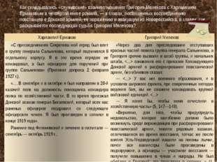 Как складывались «служивские» взаимоотношения Григория Мелехова с Харлампием