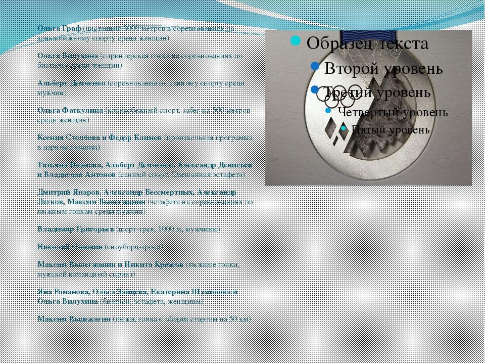 Ольга Граф (дистанция 3000 метров в соревнованиях по конькобежному спорту ср...