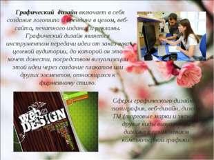 Сферы графического дизайна : полиграфия, веб-дизайн, дизайн ТМ (торговые марк