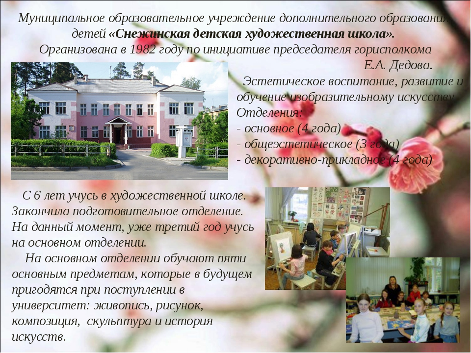 Муниципальное образовательное учреждение дополнительного образования детей «С...