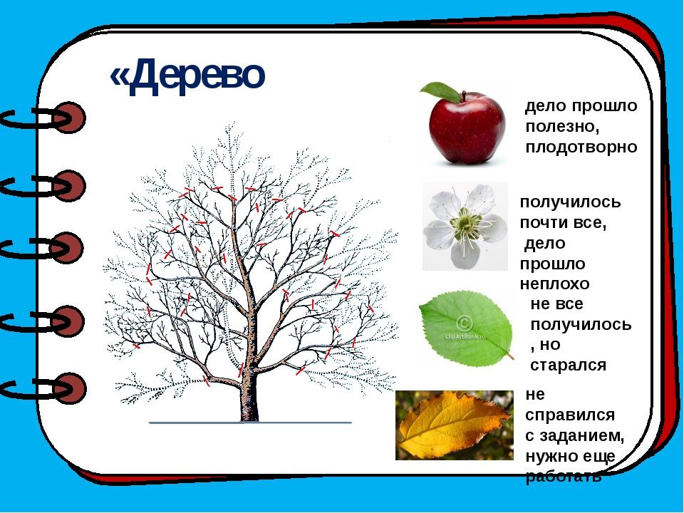 «Дерево творчества» дело прошло полезно, плодотворно получилось почти все, д...