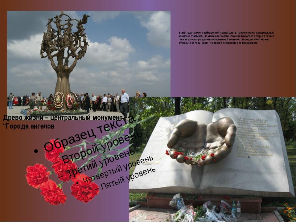 В 2011 году на месте заброшенной Первой школы начали строить мемориальный ко...