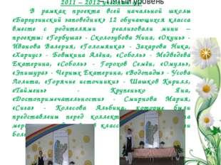 Мы - исследователи 2011 – 2012 учебный год В рамках проекта всей начальной шк