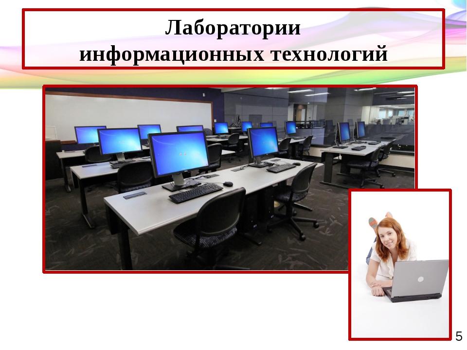 Лаборатории информационных технологий Таблички кабинетов