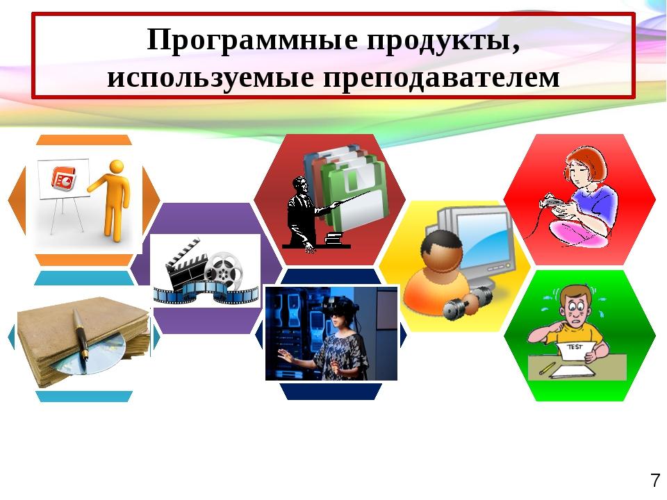 Программные продукты, используемые преподавателем Таблички кабинетов