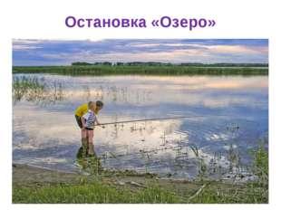 Остановка «Озеро»