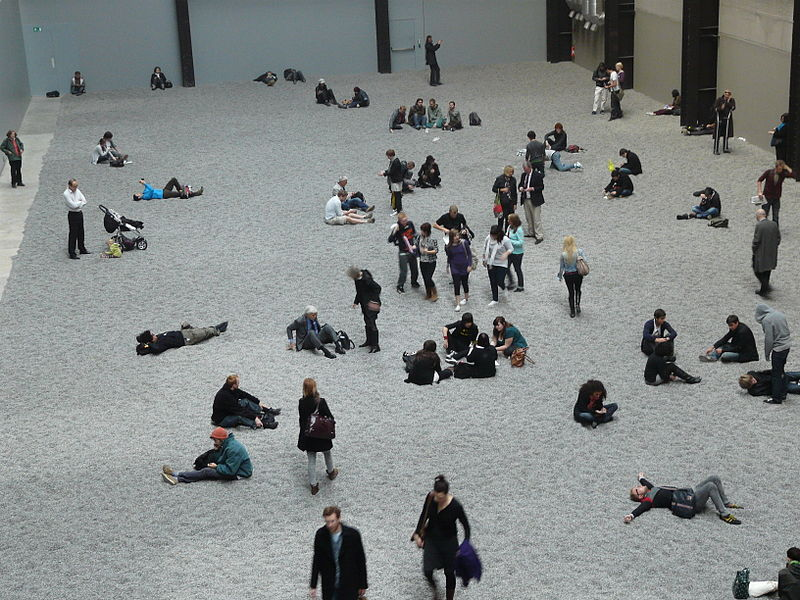File:'Sunflower Seeds' by Ai Weiwei, Tate Modern Turbine Hall.jpg