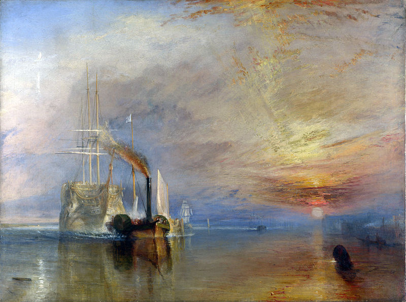 File:Turner, J. M. W. - The Fighting Téméraire tugged to her last Berth to be broken.jpg