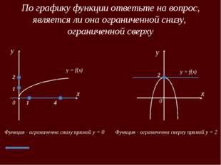 Четные и нечетные функции x 0 y f(x) x 0 y -x x f(-x) Четная функция, f(-x) =