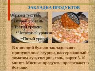 ОТПУСК ГОТОВОГО БЛЮДА В порционную тарелку кладут мясные продукты, маслины ил