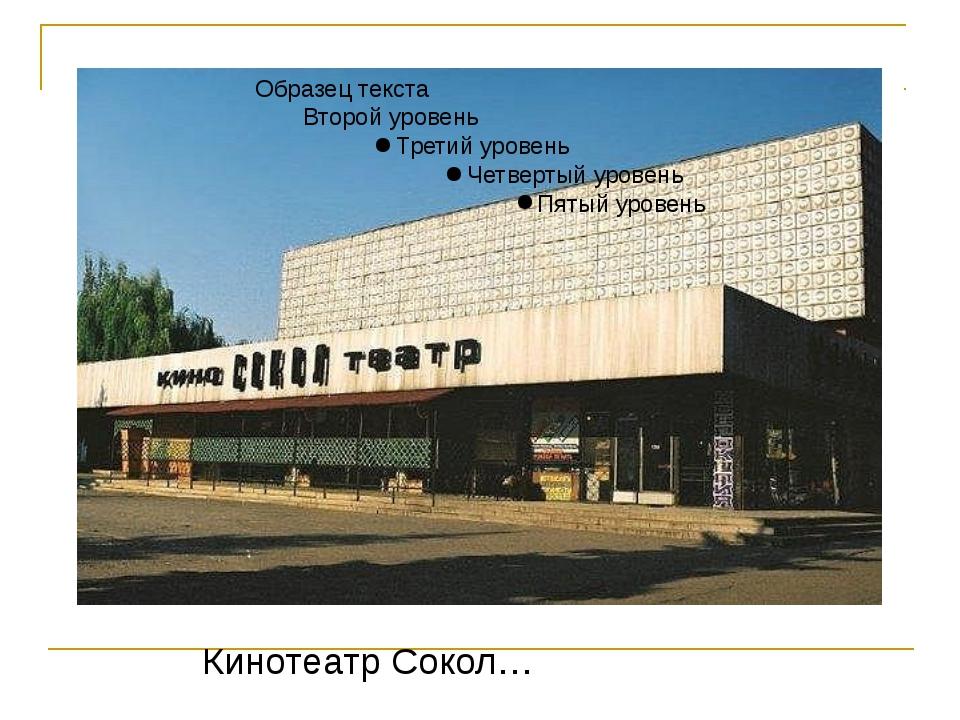 Кинотеатр Сокол…