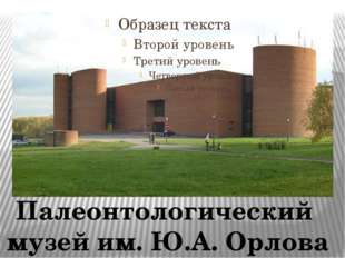 Палеонтологический музей им. Ю.А. Орлова