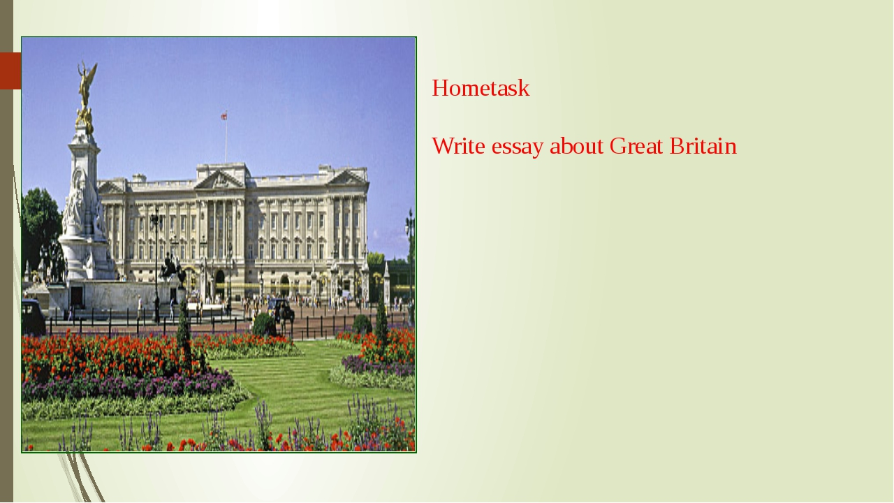 Great britain essay