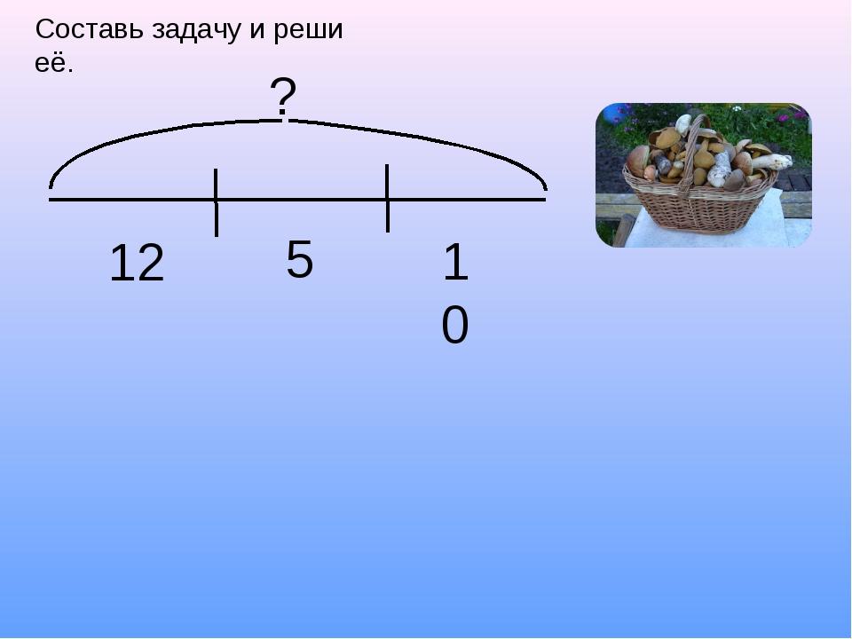 Составь задачу и реши её. 10 5 12 ?
