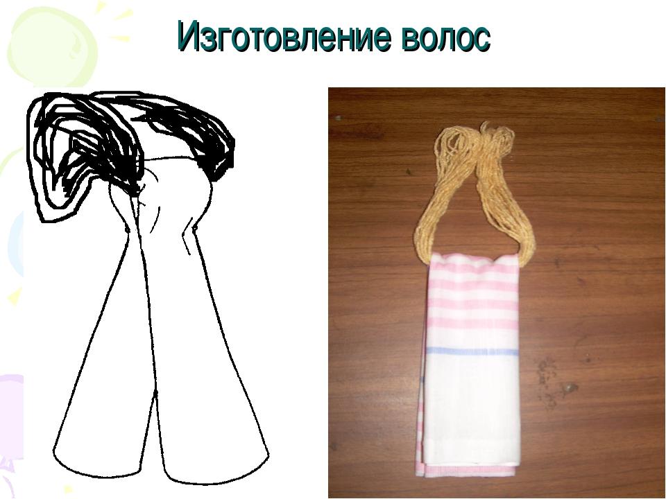 Изготовление волос