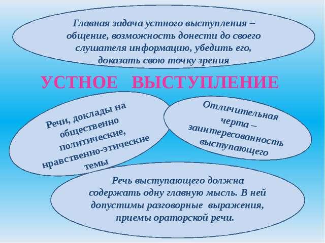 ДОКЛАД Доклад – наиболее сложная и ответственная форма устных выступлений, от...