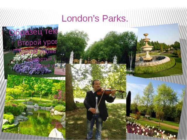 London's Parks.