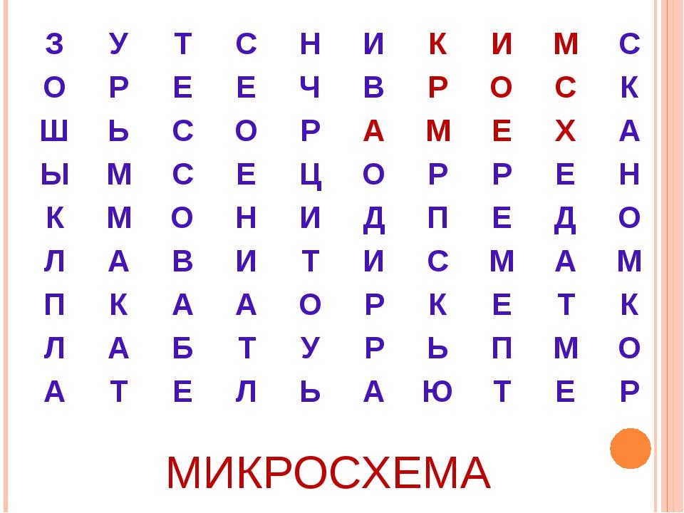 МИКРОСХЕМА ЗУТСНИКИМС ОРЕЕЧВРОСК ШЬСОРАМЕХА ЫМС...