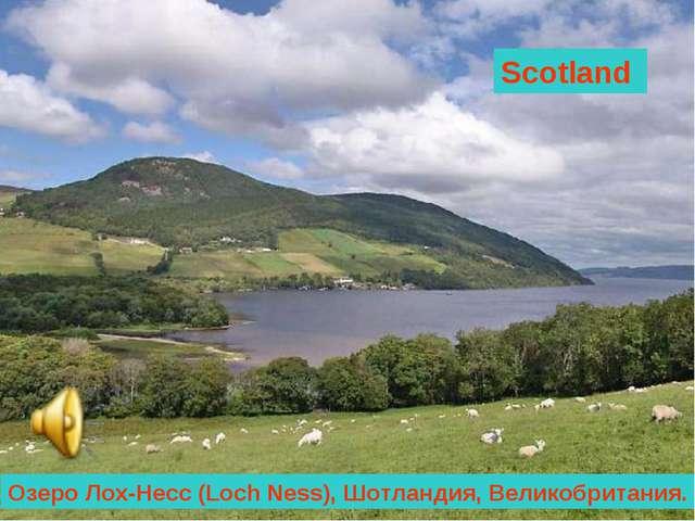 Scotland Озеро Лох-Несс (Loch Ness), Шотландия, Великобритания.