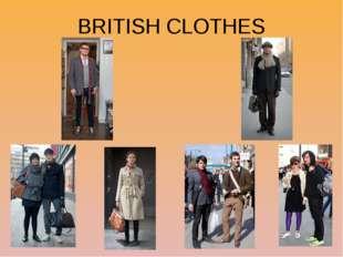 BRITISH CLOTHES