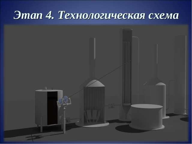 Этап 4. Технологическая схема