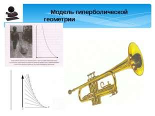 Модель гиперболической геометрии