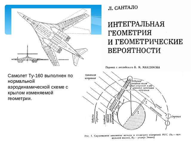 Самолет Ту-160 выполнен по нормальной аэродинамической схеме с крылом изменяе...