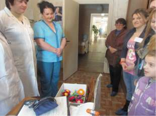 Благотворительная акция «День защиты детей» 2010 г. (поздравления и подарки д
