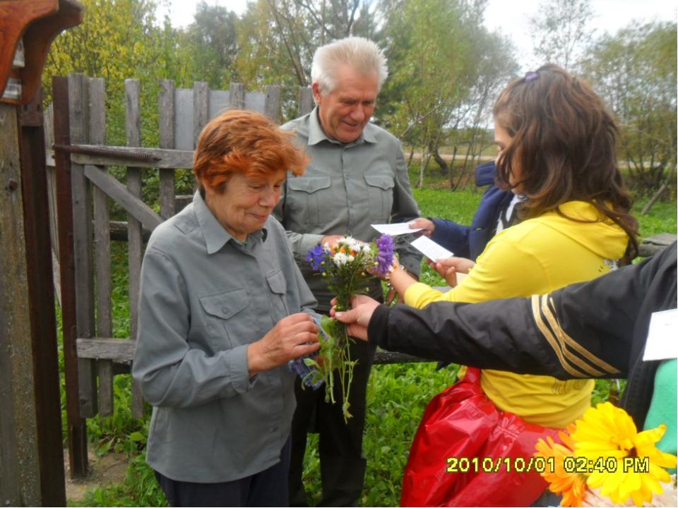 Посещение домов – интернатов для граждан пожилого возраста и инвалидов в Смол...