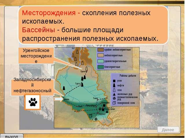 Нефть Природный газ Каменный уголь Золото Железные руды Осадочные Магматичес...