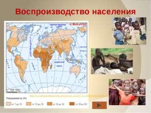 Численность Африки на 2011 год составила 1,04 млрд. человек. Средняя плотнос