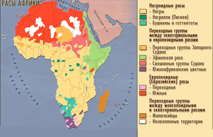 Расы Африки
