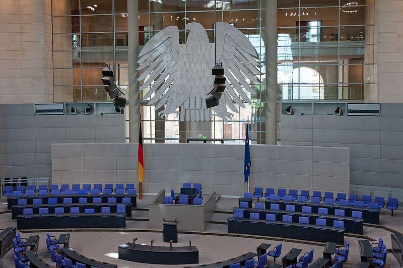 Datei:Plenarsaal des Deutschen Bundestags Aug 2009.jpg