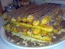 Пошаговое фото рецепта «Торт из заварного теста Дамские пальчики»