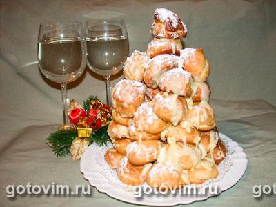 Торт Крокембуш. Фото-рецепт