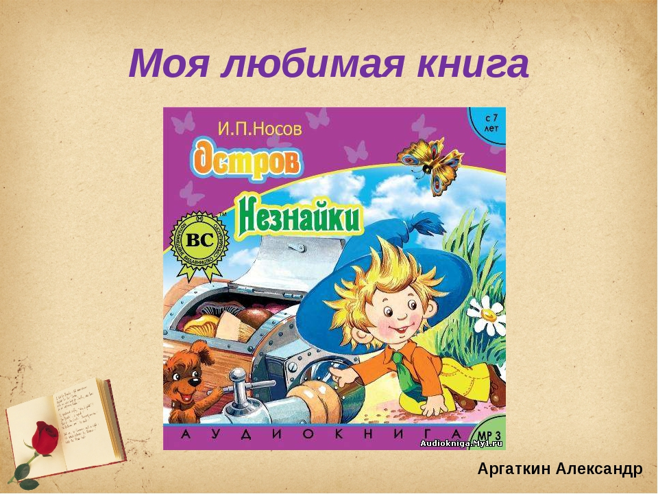 Моя любимая книга Аргаткин Александр