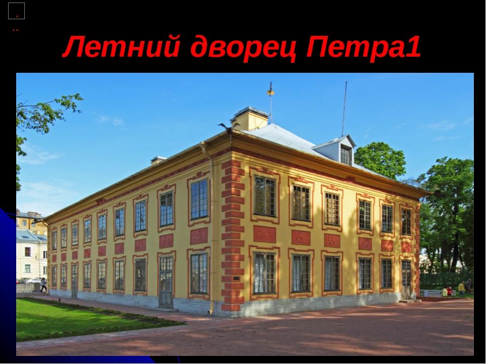 Летний дворец Петра1