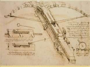 Удивительны тексты Леонардо да Винчи, которыми он сопровождает свои рисунки к