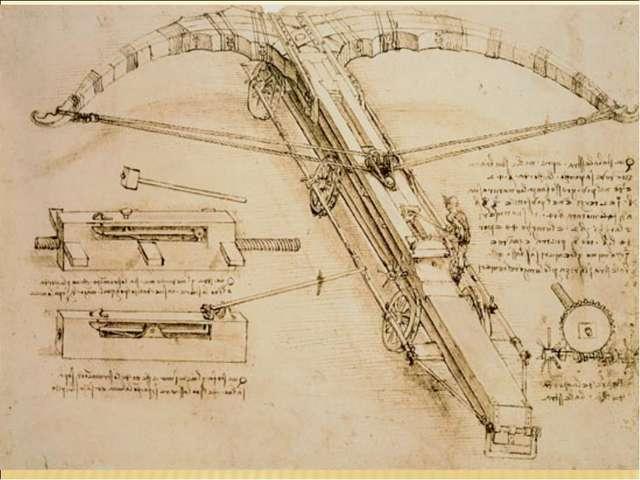 Удивительны тексты Леонардо да Винчи, которыми он сопровождает свои рисунки к...