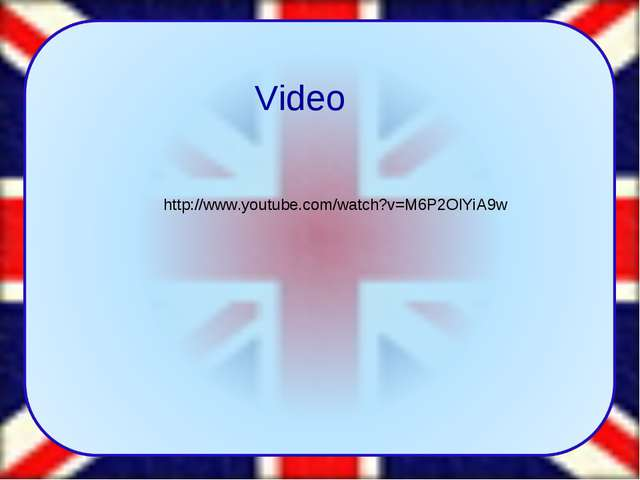 Video http://www.youtube.com/watch?v=M6P2OlYiA9w