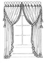 Bella Tenda Варианты оформления окон шторами
