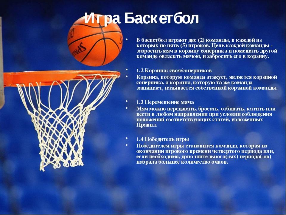Доклад техника безопасности по баскетболу 5688