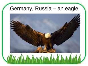 Germany, Russia – an eagle