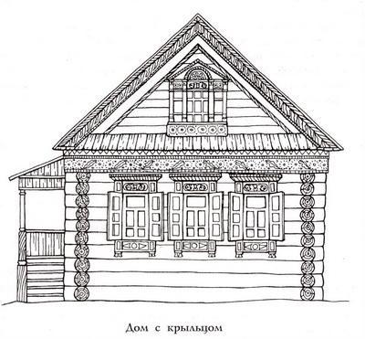 Как раньше на Руси строили избы