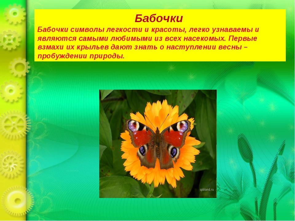 Бабочки Бабочки символы легкости и красоты, легко узнаваемы и являются самыми...