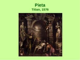 Pieta Titian, 1576