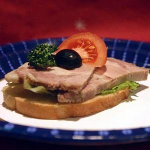 История бутерброда. Первый бутерброд.