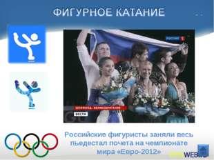 Российские фигуристы заняли весь пьедестал почета на чемпионате мира «Евро-20